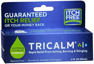 Tricalm Hydrogel Aluminum Acetate Astringent - 2 oz, Pack of 4 by TriCalm