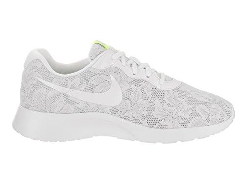 Nike Wmns Tanjun Eng, Zapatillas para Mujer Blanco (Blanc/blanc/platine Pur/rose Coureur)