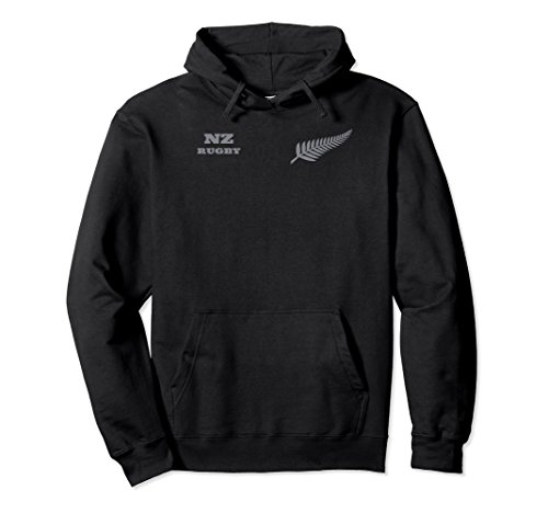 Mens New Zealand Rugby Hoodie for Rugby Dads
