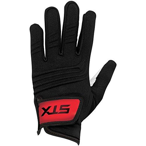 STX Lacrosse GE FRST 03 BK/XX Women's Frost Glove, black, Large