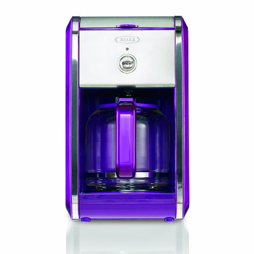 Bella BLA13740 Dots Collection 12 Cup Manual Coffee Maker Purple 829486137402 Compare Prices ...