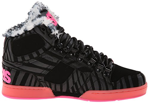 83 Schwarz UK Pink Zebra 3 NYC Shearling Osiris q4UwH7R