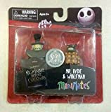 Nightmare Before Christmas MiniMates Mr. Hyde and Wolfman 2 pack exclusive