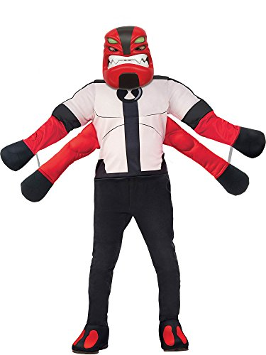 Rubie's Ben 10 Child's Deluxe Four Arms Costume, -
