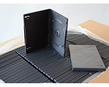 Bulk - Set de cajas para CD/DVD (100 unidades, 14 mm, con bolsillo transparente para carátula): Amazon.es: Electrónica