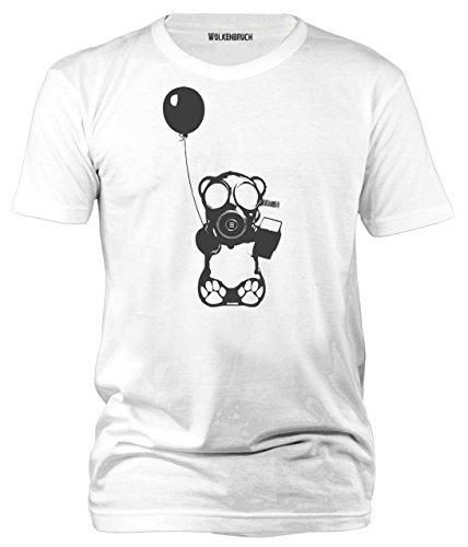 Wolkenbruch® Herren T-Shirt Atomic Bear, Gr.S bis XXXXXL