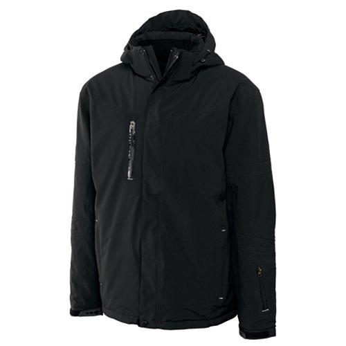 Cutter & Buck Men's CB Weathertec Sanders Jacket, Black, Large