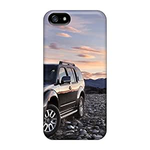 Eoc13360iTlG Tpu Phone Case With Fashionable Look For Iphone 5/5s - 2011 Nissan Pathfinder And Navara