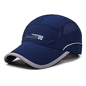 DALUCI Quick Drying Lightweight Baseball Cap Outdoor Airy Mesh UV Protection Sun Hats