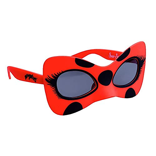 Sun-Staches Officially Licensed Lil' Characters Lady Bug Dark Lens]()