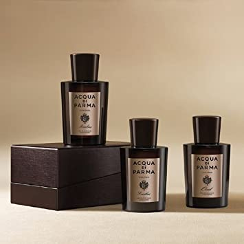 Acqua Di Parma Colonia Oud ,Leather and Ambra Trio Eau De Cologne Concentrate MINIATURE Trio