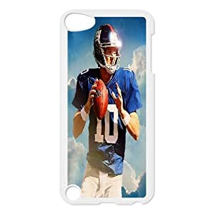 {Eli Manning Series} Ipod Touch 5 Case SEAN MCCABE ESPN Eli Manning Cover Anf Feature, Fashionable Case Bloomingbluerose - White