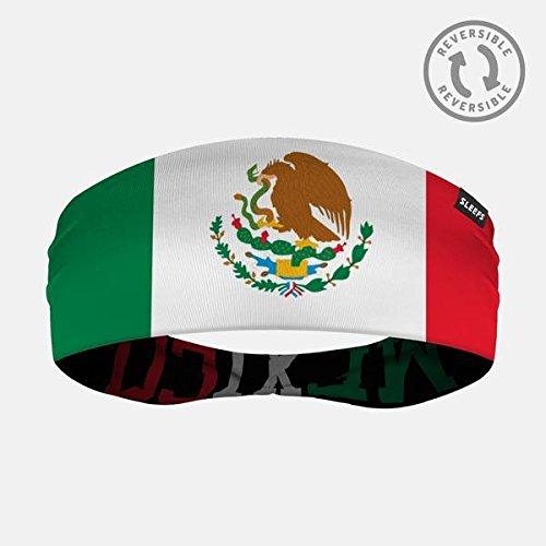 ファンブルフランクワースリー検索エンジン最適化Sleefsメキシコ国旗両面ヘッドバンド