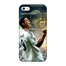 Forever Collectibles Cristiano Ronaldo PHot Sellingos Hard Snap-on Iphone 5/5s Case