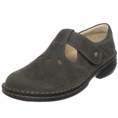 Finn Comfort Women's Soft Tofino T-Strap Shoe,Tundra Nubuck,39 M EU / 8 B(M)