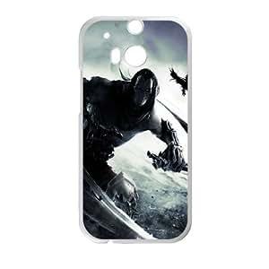 Darksiders II L HTC Caja del teléfono celular M8 Una funda blanca del teléfono celular Funda Cubierta EEECBCAAB00424