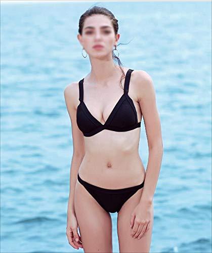 noir Medium LYLYSS Maillot De Bain Sexy pour Femmes Sexy Bikini Europe Et Les états-Unis,noir,M