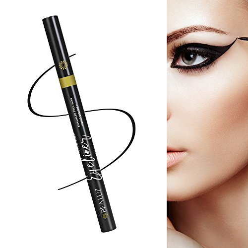 Enhanced Liquid Eyeliner with New Design, Waterproof , Perfect Precise Lines,Non-Core High Sealing Liquid, Charming Eyeliner Deeply Pigmented by Bea Luz