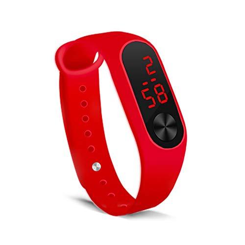 Amazon.com: RUIVE Smart Wristband Pedometer Watch Pedometer ...