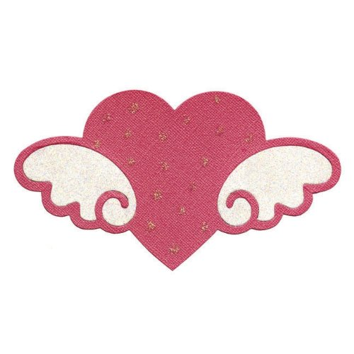 Sizzix 655794 Bigz Die Hello Kitty Heart with Wings by Sizzix   B006A2J3CS