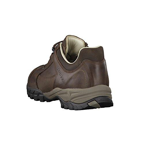 Lugano botas de senderismo para hombre Marrón oscuro