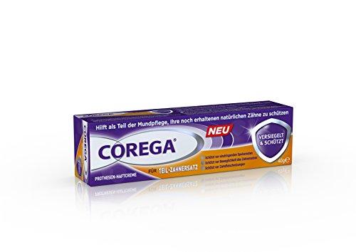 Corega Haftcreme für Teil-Zahnersatz, 6er Pack (6 x 40 ml)