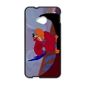 HTC One M7 Phone Case Black Aladdin Iago YU9405810