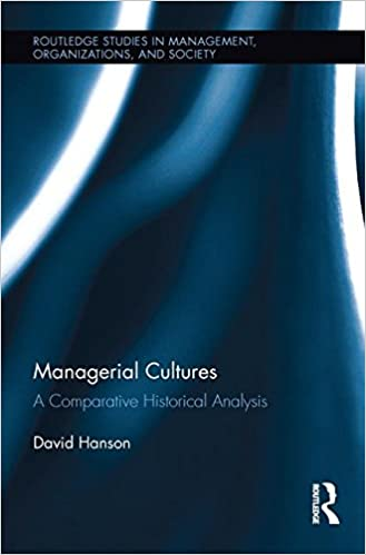 Book Managerial Cultures: A Comparative Historical Analysis
