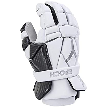 Image of Epoch Lacrosse Integra High Perfomance Lacrosse Gloves with Phase Change Technology, Real Carbon Thumb for Attack, Middie and Defensemen