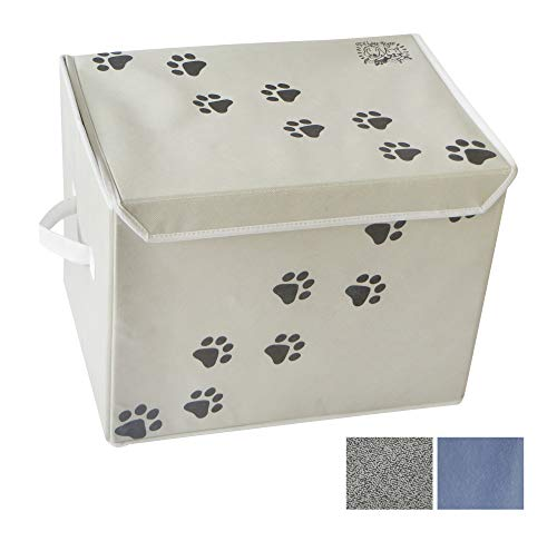 Toy Pet Box - Feline Ruff Large Dog Toys Storage Box. 16