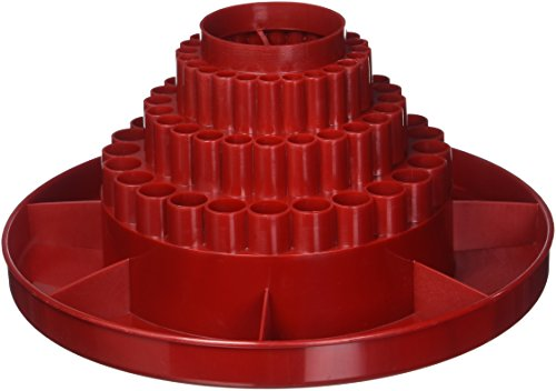 Alvin 9893 3 Spin O Tray Red