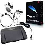Express Scribe Transcription Foot Pedal Bundle