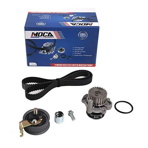 MOCA Timing Belt Kit Water Pump Fit 01-05 Volkswagen Beetle & 01-06 Volkswagen Golf Turbo & 01-05 Volkswagen Jetta Turbo & 00-06 Audi TT 1.8L