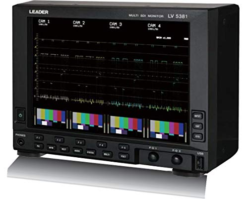 Leader LV5381 Waveform Monitor for HD/SD SDI Signals