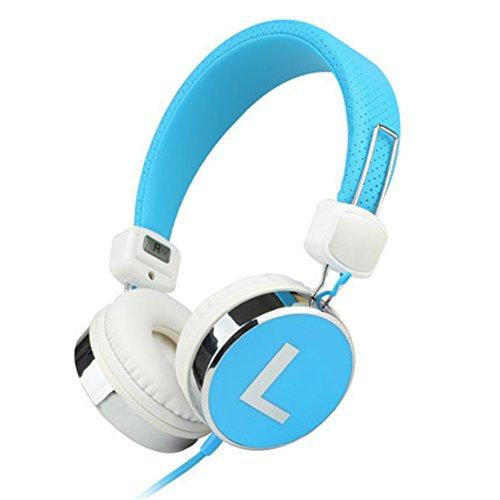 Head-arch headphones Portable folding headphones Single earphone-C