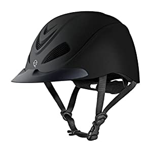 Troxel All-Purpose Liberty Helmet - DialFit System, Ultralight - Black Duratec