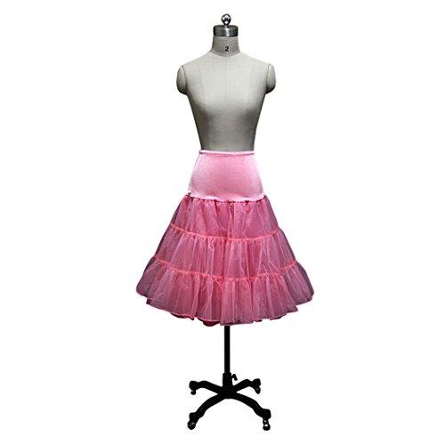 Sarahbridal Women A-Line Short Petticoat Crinoline 12018CR