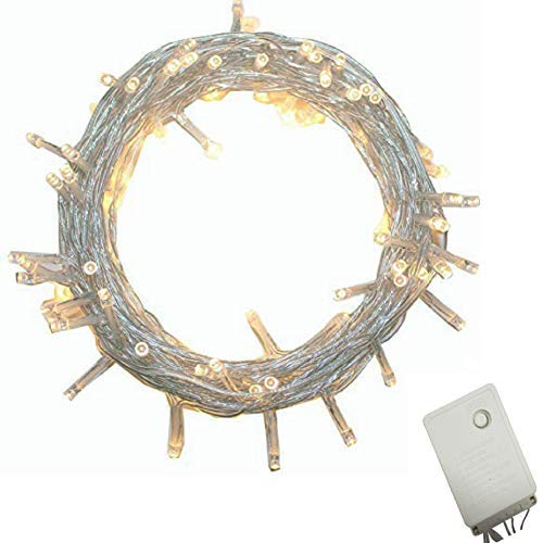 Led String Lights With White Cable