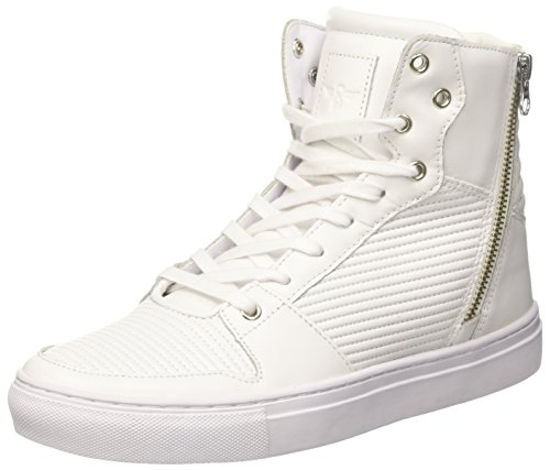 Creative Recreation Adonis, Zapatillas Altas para Hombre Bianco