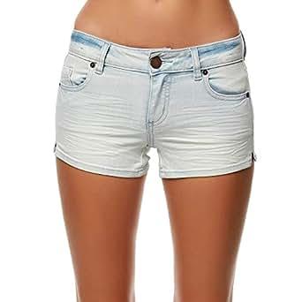 O'Neill Women's Denim Short Bottoms - Blue - 24