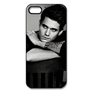 Custom John Mayer Hard Back Cover Case for iPhone 5,5S TPU (Laser Technology)
