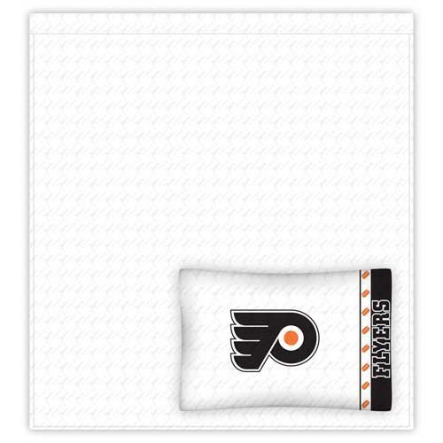 NHL Philadelphia Flyers Micro Fiber Sheet Set (Full) [並行輸入品]   B07CZHP3P6