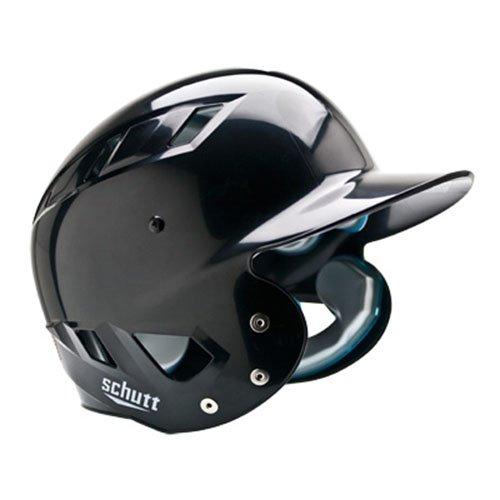 Schutt Sports AiR Maxx T Baseball Batter's Helmet, Black, Large