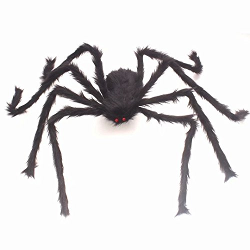 Galleon Scary Halloween 4 Ft 125cm Giant Spider Home Decor Yard