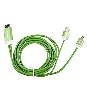 Noodles Shaped Micro USB HDMI Data Transmission Line for Samsung Galaxy S3 Note3