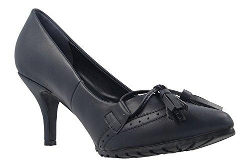 Andres Machado - Zapatos de vestir de Sintético para mujer azul azul
