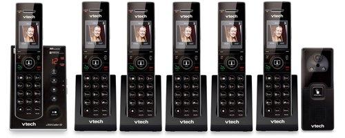 VTech 6 Handset Versatile Phone System with a Doorbell Digital Camera