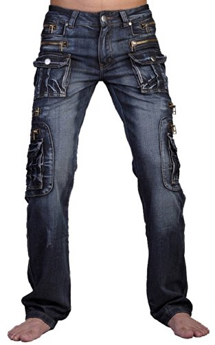 Jeans Pantaloni J007 Sottile Jeansian Uomo Casual J008 Denim Moda blue Uomini Igw61qB