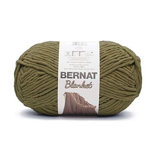 Bernat Blanket Big Ball Yarn (10241) Olive ()