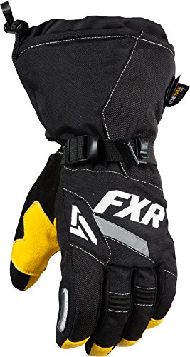 FXR Women's Black/White CX Glove - Medium